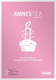 "Amnesty ""Amnestea"" International - a great idea for a IAS department event"