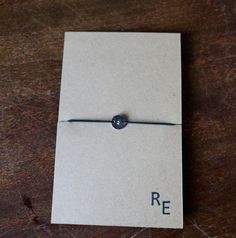 ID Number Bracelet / Ripple Effect