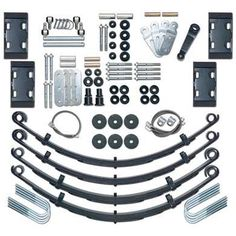 "1986 JEEP CJ7 Rubicon Express 4.5 Inch Extreme-Duty Leaf Spring Lift Kit - No Shocks: ""4.5""""… #AutoParts #CarParts #Cars #Automobiles"