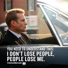 97 Likes, 0 Comments - Harvey Specter Boss Quotes, Me Quotes, Qoutes, Motivation Pictures, Harvey Spectre Zitate, Harvey Specter Suits, Suits Harvey, Citations Sport, Quotes About Attitude