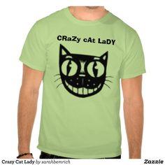 Crazy Cat Lady Tshirt