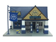 diecastmodelswholesale - Ford 1940 Service Gas Station Diorama 1/32 by Beyond Infinity, $31.99 (https://www.diecastmodelswholesale.com/ford-1940-service-gas-station-diorama-1-32-by-beyond-infinity/)
