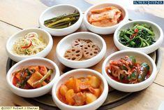 Yummy Korean side dishes.