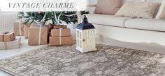 Vintage Teppiche - weihnachtlich dekorieren
