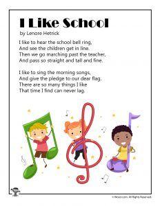 School Poems for Kids | Woo! Jr. Kids Activities