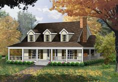 Plan 7476RD: Country Living at it's Finest