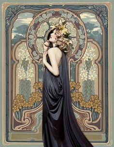 art nouveau by patsy