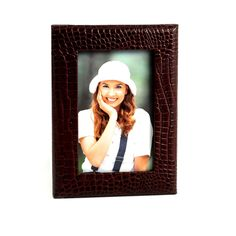 Croco Leather Picture Frame