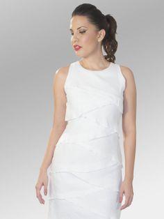 Vestido Tourist #moda #lino #SS2014 www.abito.com.mx