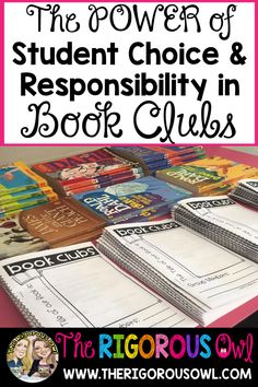 We are here to help you add some tools to your teacher toolkit in order to become effective at managing Book Clubs in your classroom. 3rd Grade Books, Third Grade Reading, Grade 3, Second Grade, Reading Club, Teaching Reading, Reading Response, Reading Activities, Teaching Tips