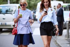 Milan Fashion Week W SS16 Elisa Nalin & Ece Sukan Photo by YuYang