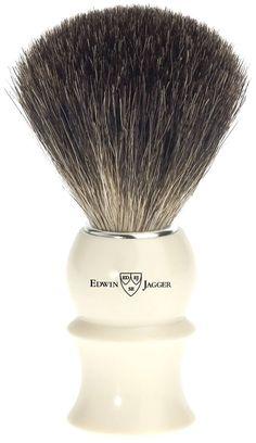 Edwin Jagger Imitation Ivory Shaving Brush