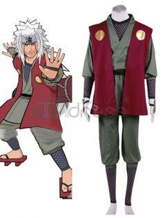 Costume Anime Naruto Cosplay Costume: Naruto Shippuden Jiraiya Cosplay Costume - AnimePond - 2 - Jiraiya Cosplay Costume Special Use: CostumesGender: MenMaterial: Other Sasuke Cosplay, Miku Cosplay, Cosplay Sakura, Naruto Cosplay Costumes, Anime Costumes, Halloween Cosplay, Cool Costumes, Halloween Costumes, Mulan Costumes