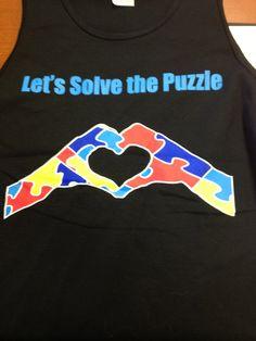 Autism Awareness Shirts :)