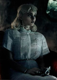 Interview March 2012 'As She Waits' - Abbey Lee Kershaw by Mikael Jansson