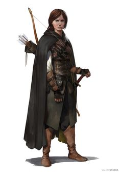 ArtStation - Archer, Valeriy Vegera                                                                                                                                                     More