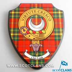 Leask Clan Crest Woo