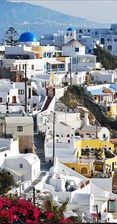 Santorini, Greece • photo: Atilla2008 on Flickr