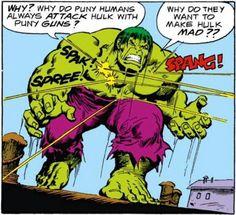 The definitive Hulk by Sal Buscema