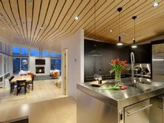 good layout possible to have kitchen be part of room but not in it