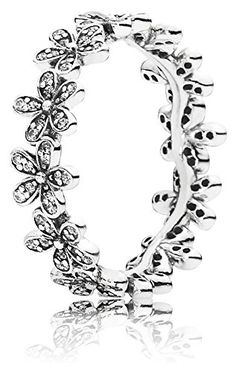 Pandora 190934CZ-50 Ring Dazzling Daisy Meadow, Clear Cubic Zirconia. New with tags!. 100% Authentic PANDORA item. Crafted from 925 Sterling silver. EUR: 50 US: 5.5. Pandora Dazzling Daisy Chain Ring.
