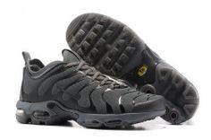 Discount Nike Air Max Plus Tn Ultra Dark Grey Black Mens Running Shoes  Training 898015 ab836d4ecad