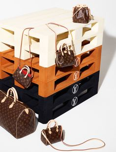 Louis Vuitton classic miniature mini bags with shoulder straps