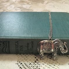 Silver Elephant Necklace Don't be shy, make an offer!! I'd be happy to answer any questions you may have or bundle up a few of your favorites at a discounted price! :) Jewelry Necklaces