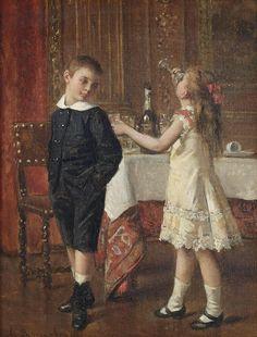 """An acquired taste"" by Albert Roosenboom"
