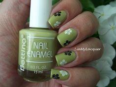 Bettina Ortensia + Floral Stamping (originally seen by @Natashanzi )