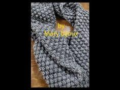 "Scaldadacollo""Punto Lampone_Raspberry stitch Scarf - YouTube Easy Crochet Hat, Diy Crochet, Knitting Videos, Neck Warmer, Raspberry, Stitch, Fashion, Bird Nests, Baby Cardigan"