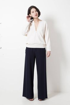Molli coralie high-waisted trousers - wendela van dijk