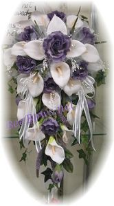 lilly bridal bouquet