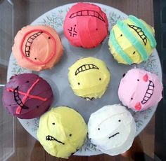 Koro Cakes by StarlitMoth on DeviantArt Pretty Cakes, Cute Cakes, Naruto Birthday, Cake Recept, Tumblr Food, Cool Cake Designs, Cute Birthday Cakes, Anime Crafts, Cute Desserts