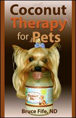 Coconut oil for pets  http://www.coconutresearchcenter.org/The%20Coconut%20Oil%20Miracle-Where%20is%20the%20Evidence.htm