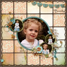 Layout Autumn's Kiss