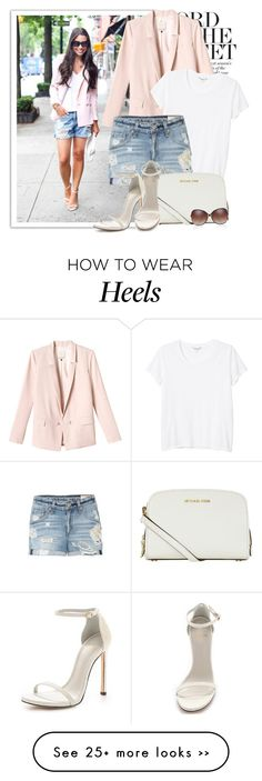 """casual on heels"" by monmondefou on Polyvore"