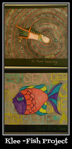 Paul Klee - Fish Art with Crayons and Watercolors | Harmony Fine ArtsHarmony Fine Arts