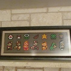 Show off all your favorite Super Mario Bros 3 power ups!
