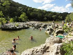 Twin Falls Austin Texas great place for the family. Hiking playing in the water.
