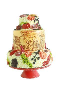 PORTFOLIO   Queen of Hearts Couture Cakes   Multi Award Winning Masters of BUTTERCREAM Art!  100% BUTTERCREAM