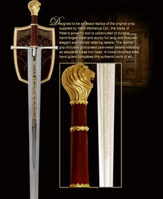 Peter's Sword Prop from The Chronicles of Narnia