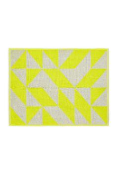 Aura by Tracie Ellis - Duo Towel Range in Lime