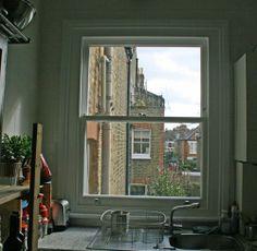 Sash Windows London, Kitchen, Cooking, Kitchens, Cuisine, Cucina