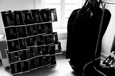 Backstage at the LUBLU Kira Plastinina SS14 fashion show. Planning and preparations.