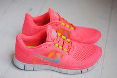 Pink Nike shoes Pink Nike Shoes, Pink Running Shoes, Nike Shoes Cheap, Pink Nikes, Nike Free Shoes, Nike Shoes Outlet, Cheap Nike, Toms Outlet, Neon Shoes