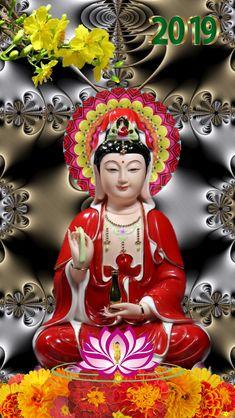 Buddha Temple, Hello Kitty Backgrounds, Tiny Buddha, Ascended Masters, Buddhist Monk, Guanyin, Morning Wish, Deities, Vietnam