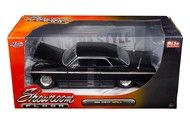 1964 Chevrolet Impala Black Showroom Floor 1/24 Diecast Car Model By Jada 98907