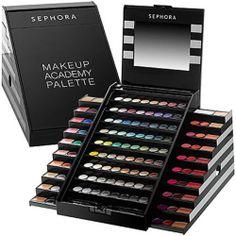 NIP SEPHORA $210 Value 2013 Blockbuster Makeup Academy Palette! | eBay
