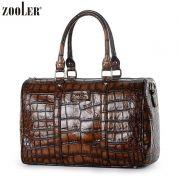 【Mayor 包邮】 3,8 mi mujer bolsa de leopardo bolsos de cocodrilo patrón hombro portátil bolsa diagonal
